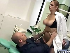 Horny Patient (candy alexa) Get Sex Treatment At Doctor Cabinet video-06