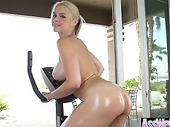 Big Round Ass Girl (sarah vandella) Enjoy Anal Sex On Camera video-26