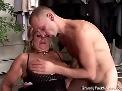 Grandma fucked really hard