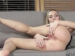 Unusual czech girl spreads her narrow vulva to the extreme