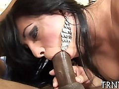 T-girl fucks female