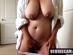 nice boobs play with pussy