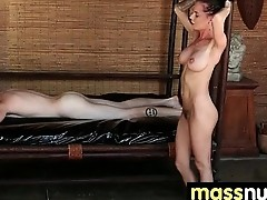 Nuru Massage Ends with a Hot Shower Fuck 20
