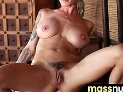Nuru Massage Ends with a Hot Shower Fuck 21