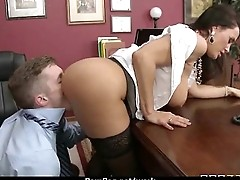 Busty hottie has hardcore office affair 9