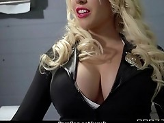 Busty hottie has hardcore office affair 19