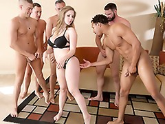 Lena Paul In the porn scene - Brazzers House sex in five
