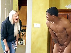 Horny Aubrey Black is going to fuck Lil D