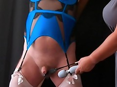 Pleasure Pain - Femdom Mistress CBT Session with Sissy Slave