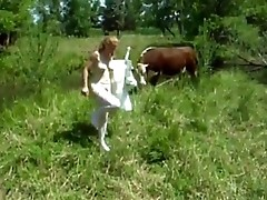 naughty girl fucked in front of cow - cambooty.tk