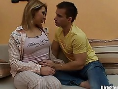 Horny Blonde Sexy Stepsister Hardcore Fucked By Stepbro