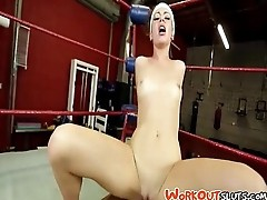 Training With Stella Daniels - GymSex